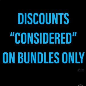 🤠STORE BUNDLE POLICY DISCOUNT STRUCTURE🤠